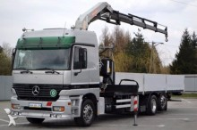 ciężarówka Mercedes Actros 2540 Pritsche 8,60 m + KRAN!