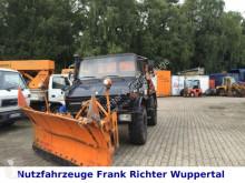 camião Unimog 424, U1000, Winter:Streuer+Schubschild