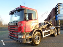 camion Scania 124G420 6x4 Hook / Manual / Euro 2 / Full Steel