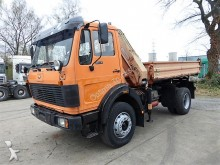 camión Mercedes 1617 4x4 Meiller Kran
