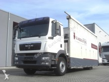 MAN TGM 18.340 4X2/ Glastransport / Kran PALFINGER