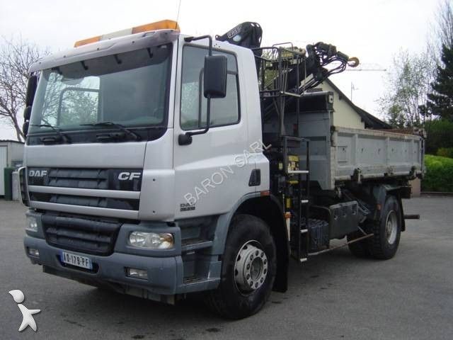 Camion daf ribaltabili 198 annunci di camion daf for Rimorchi ribaltabili trilaterali usati