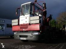 camion piattaforma trasporto ferro usato