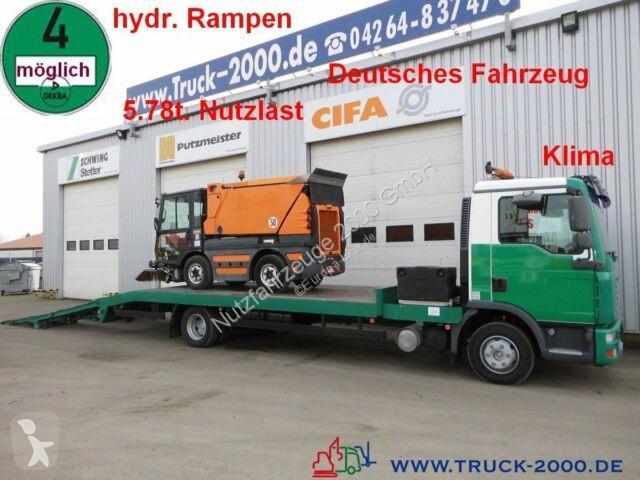 Camion MAN TGL 12.210 Baumaschinentransporter 5,8 to. NL
