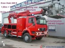 camión plataforma elevadora MAN