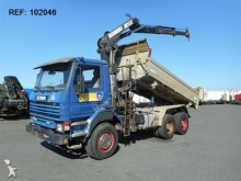 camión Scania 113.360 MANUAL FULL STEEL HIAB 160