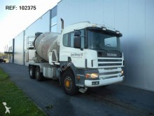camión Scania 124.400 MIXER FULL STEEL MANUAL