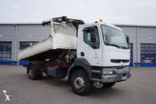 camion Renault Kerax 300 Manual Tipper Hiab Crane Full Steel Su