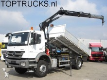 camion Mercedes Axor 1833 EURO 5 5KRAN + KIPPER