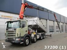 camion Scania R 124.420 8X4 etade Palfinge 35 ton/mete K