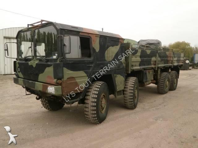 Camion man 8x8 15 annonces de camion man 8x8 occasion - Terrain militaire a vendre ...
