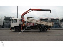 camion MAN 18.232 TIPPER WITH FASSI 105 CRANE