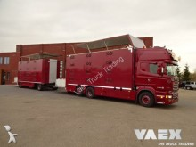 camion Scania R520 + Jumbo 4 Deks Combinatie dwars geventileer