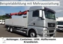 camion MAN TGX 26.460 6x2-2LL / Baustoff / Ladekran PK34002
