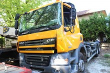 camion polybenne accidenté
