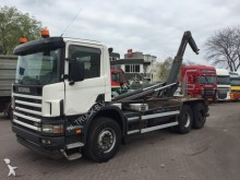 camion Scania 114 380 6x4 full steel manual
