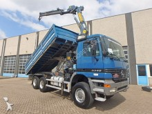 camión Mercedes 3340 6x6 TIPPER + EFFER 15T/M