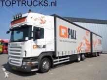 camión Scania R400 6x2 EURO 5 RETARDER / COMBI / JUMBO LKW