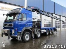 camion Volvo FM 480 10x6 Hiab 80 ton/meter Kran