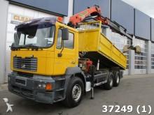camion MAN 33.364 DFC 6x4 Palfinger 19 ton/meter Kran