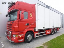 camión Scania R560 SIDE OPENING EURO 4 MANUAL