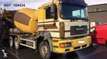 camión MAN 27.414 - SOON EXPECTED - MIXER FULL STEEL HUB REDUCTION