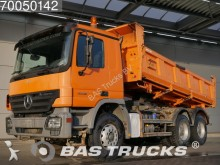 camion Mercedes Actros 3332 K 6X4 Manual 3-Seiten Big-Axle Steel