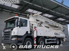 camión Scania P380 8X4 Manual Big-Axle Steelsuspension Euro 3