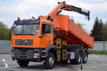 camion MAN TGA 33.360 Kipper 5,60 m + KRAN 6x4 Bordmatic!