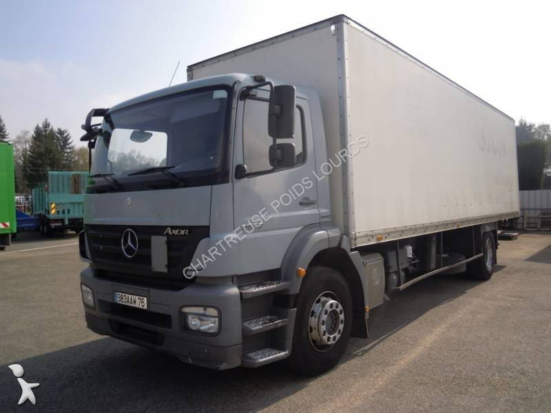 camion mercedes fourgon polyfond axor 1829 euro 4 hayon occasion n 2005857. Black Bedroom Furniture Sets. Home Design Ideas