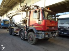 camion calcestruzzo betoniera mescolatore + pompa usato