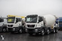 camion calcestruzzo betoniera mescolatore + pompa MAN