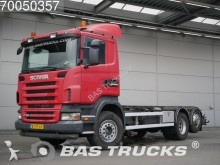 camion Scania R380 6X2 Liftachse Hydraulik 3-Pedals Euro 4 NL-