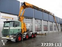 camion Scania R 124 8x4 Effe 115 ton/mete Kan + Fly-Jib