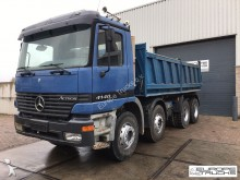 camión Mercedes Actros 4140 K 8x4 - Manual - Full steel