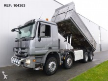 camión Mercedes ACTROS 4144 8X4 DUMPER FULL STEEL HUB REDUCTION EURO 5