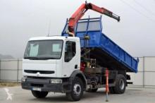 camion Renault Premium 270 * Kipper 4,80 m + KRAN!