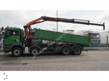 camion MAN TGS41.440 8x4 TIPPER + CRANE MANUAL GEARBOX
