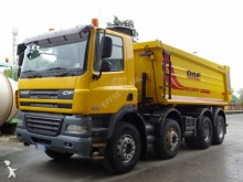 camion halfpipe tipper DAF