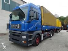 camion MAN TGA 26.440 6x2 *+Anhänger+Palfinger Kran PK7501*