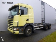 camión Scania R144.530 MANUAL FULL STEEL HUB REDUCTION