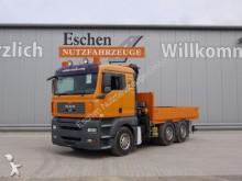 camion MAN 26.480 TGA, 6x4, Bl/Lu, Klima, HMF 1680 K 2 Kran