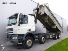 camion DAF CF85.410 RHD TIPPER MANUAL FULL STEEL EURO 5