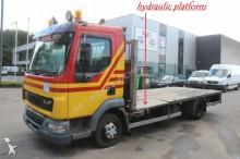 camion DAF LF 45.180 - HYDRAULIC PLATFORM - AIR SUSP. - NL