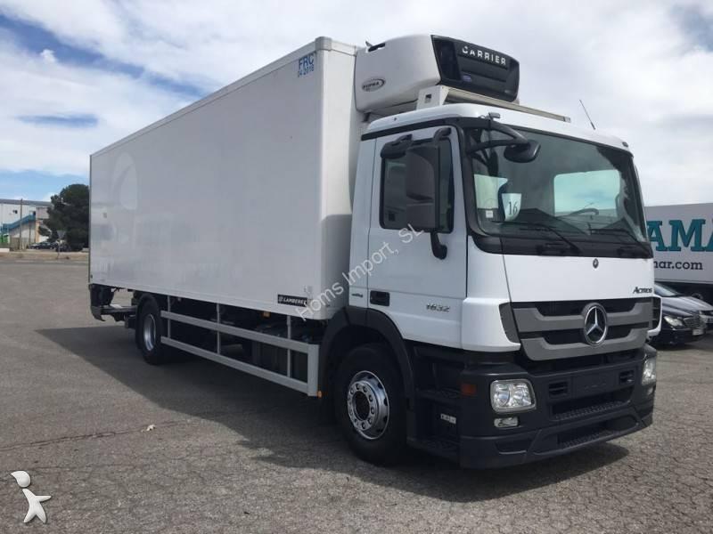 Camion Mercedes Frigo Carrier Mono Temp 233 Rature Actros 1832 4x2 Gazoil Euro 5 Hayon Occasion N