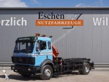 camión Mercedes 1824 4x2, Ellermann Seilgerät, MKG HLK 80 Kran
