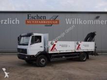 camión Mercedes 1517 L 4x2, Meiller MK 77 RS Kran