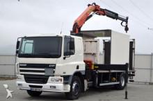ciężarówka DAF CF 75.250 * Isotherm 6,00 m + KRAN Ladebordwand!