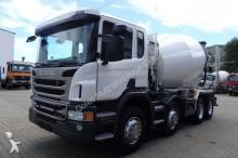 camion Scania P 400 CB 8x4MHZ Euro5 Betonmischer Liebherr 9ccm