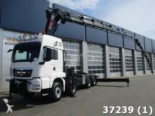 camión MAN TGS 35.480 8x6 Retarder Hiab 105 ton/meter Kran